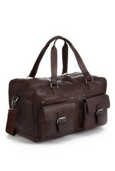 350bb1c55c Buy the Leather Double Handle Urban Holdall from Marks and Spencer s range.