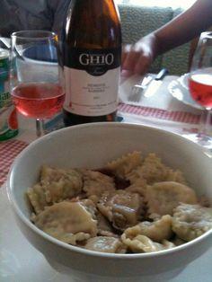Ravioli with wine...Piemonte specialty
