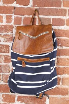 brandy melville, leather flap bag