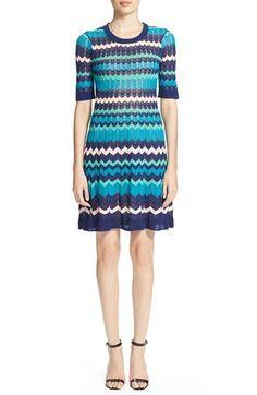 M missoni blue dress 70s