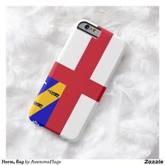 Herm, flag barely there iPhone 6 case