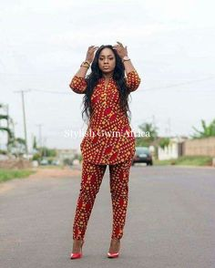 Items similar to African Clothing/ Ankara Dress/ African Print/ Ankara Print on Etsy African Clothing/ Ankara Blouse and Pant/ African Print/ African Fashion Ankara, African Fashion Designers, Latest African Fashion Dresses, African Dresses For Women, African Print Dresses, African Print Fashion, Africa Fashion, African Wear, African Women