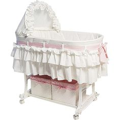 Comfort baby with this Burlington Baby Rocking Bassinet Cradle Combo from Walmart.com. Save money. Live better.