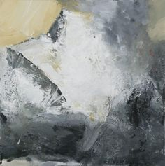 """Snow Mountain"", 2011 by Ørnulf Opdahl - oil on canvas Mountain Paintings, Nature Paintings, Landscape Paintings, Abstract Oil, Abstract Landscape, Abstract Paintings, Art Paintings, Mountain Art, Snow Mountain"