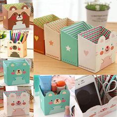 $0.99 Package Included:1PC Storage Box. Material: Paper. Due to the light and screen difference, the item's color may be slightly different from the pictures. Color:White/Yellow/Green/Brown.