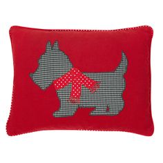 Laura Ashley Level G, Scotty Dog Cotton Cushion.