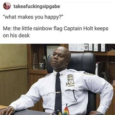 "3,663 Likes, 46 Comments - ️‍ LGBT+ SUPPORT️‍ (@lgbt.teens.uk) on Instagram: ""The first post is from Brooklyn 99 tv show which is amazing. And the second photo is me and my…"""