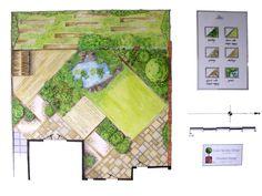 Large image of Suzie Nichols' Wildlife Garden design.