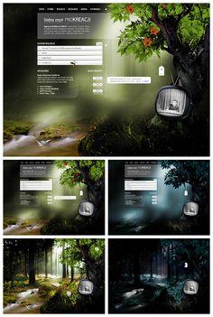PROCREATION #webdesign #design #designer #inspiration #user #interface #ui