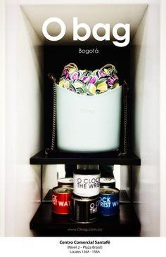 No somos sólo vendemos O bag. Brindamos una experiencia de compra agradable y divertida. ¡Vísítanos! Centro Comercial Santafé (Bogotá, Colombia) (Nivel 2 - Plaza Brasil) www.Obag.com.co