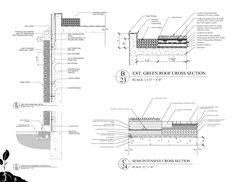 green wall , roof Sustainable Construction Details by JordanKaylor.deviantart.com on @deviantART