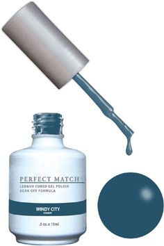 LeChat Perfect Match Gel + Matching Lacquer Fog City My Beauty Supply Center Inc. Shellac Nail Polish, Gel Polish Colors, Gel Color, Nail Colors, Get Nails, Hair And Nails, Fall Nails, Perfect Match Nail Polish, Iris For Sale