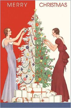 Whatever your style, have a very merry Christmas! #vintage #Christmas #cards