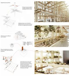 Austrian Pavilion - EXPO 2015 Milano by Alexander Daxböck, via Behance Architecture Presentation Board, Modern Architecture Design, Pavilion Architecture, Architecture Board, Architecture Portfolio, Interior Architecture, Parasitic Architecture, Timber Structure, Expo 2015