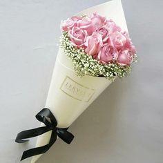Ice cream flowers I love you baby