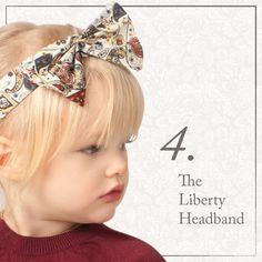 AW14 | Liberty Mark girls headband | Old Brown Collection