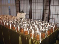 Caramel Apple Wedding Favors!