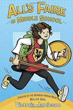 All's Faire in Middle School by Victoria Jamieson https://www.amazon.com/dp/0525429980/ref=cm_sw_r_pi_dp_U_x_874oAb4P540XA