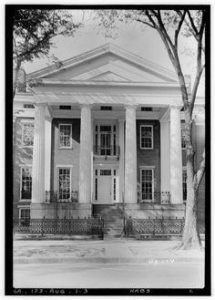 Clanton-Vason-Coleman House, 503 Greene Street, Augusta, Richmond County, GA