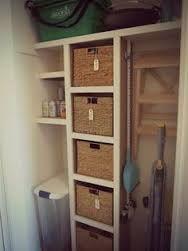 vacuum cleaner storage cupboard - Google Search