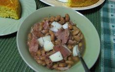 Crock Pot Pinto Beans & Ham
