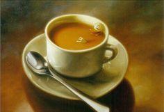 B:sides playlist ~ Caffeine - art: Large Coffee With Duck and Spoon 1999 Artist: Kaj Stenvall Nordic Art, I Love Chocolate, I Love Coffee, Types Of Art, Finland, Illustration Art, Illustrations, Tea Cups, Tableware
