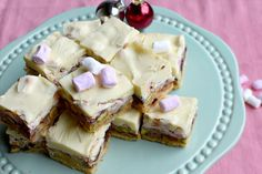Welcome to the World of BBQ Rocky Road Slice, Dessert Recipes, Desserts, White Christmas, Bbq, Christmas Recipes, Food, Camping, Tailgate Desserts