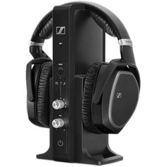 SENNHEISER RS 195 Wireless Over-Ear Headphone System with Selective Hearing Boost