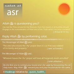 #asr #salah #namaz #virtues #benefits #significance #quran_hadith #islam
