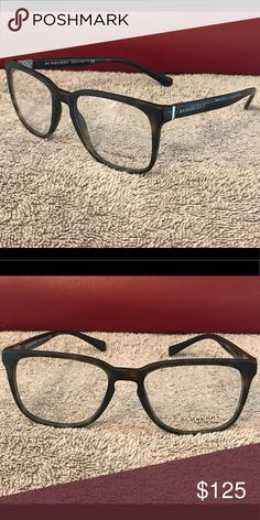 627360b59ce8 Authentic Burberry Eyeglass Frames Matte Brown Tortoise Shell Burberry  Accessories Glasses Tortoise Shell