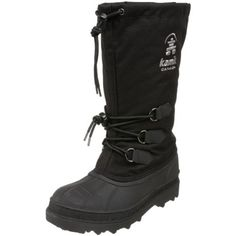 Kamik Women's Canuck Boot,Black,9 M US >>> Check this awesome product by going to the link at the image.
