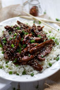 Vegan Mongolian Beef - Vegetarian RecipesVegan Mongolian beef from scratch with a recipe for beef seitan thrown in. Seitan Recipes, Vegan Beef, Vegan Foods, Vegan Dishes, Veggie Recipes, Vegan Vegetarian, Vegetarian Recipes, Seitan Chicken, Vegan Recipes