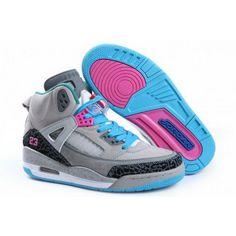 Women Nike Air Jordan 3.5 Retro Suede Grey Blue Pink White Air Jordan 9, Nike Air Jordan Retro, Air Jordan Shoes, Jordan Sneakers, Girls Sneakers, Sneakers Nike, Air Jordans Women, Nike Air Jordans, Womens Jordans