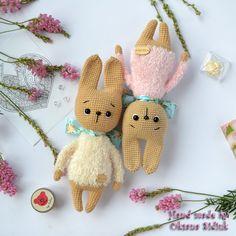 Crochet Rabbit, Textured Yarn, Crochet Patterns Amigurumi, Amigurumi Toys, Knitted Animals, Easter Crochet, Crochet For Boys, Knitted Dolls, Soft Dolls