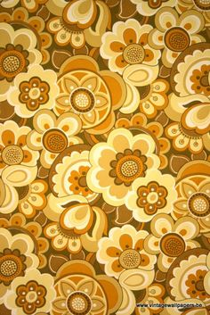 Manufactured by Decofrance Repeat 45 cm  ColoursWhite, Brown, Beige, Orange, Yellow