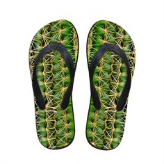 >> Click to Buy << Quality 3D Cactus Man Flip Flop Rubber Sandals Summer All-match Beach Slippers Leisure Chaussures Hommes Multi-color Cool Shoe #Affiliate