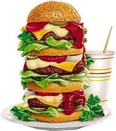 burger of all burgers clipart