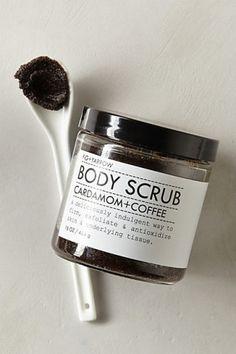 Fig + Yarrow Cardamom & Coffee Body Scrub