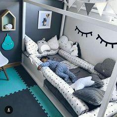 Ideen für kleine Kinderzimmer und Jugendzimmer. Einrichtung und Dekoration Mädchen Girls Kinderzimmer. DIY Möbel und Tapeten.