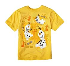Disney's Frozen OLAF in the Sun Boy's T-Shirt size XXS(2/3) *** Be sure to check out this awesome product.