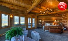Luxury Log Homes | Luxury Log Homes and Luxurious Living