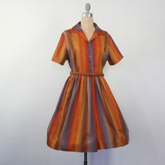 50s Fall Harvest Dress now featured on Fab.