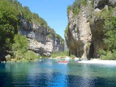 LES GORGES DU TARN: Like a moonscape on Earth and a voyage into the unknown, the majestic Gorges du Tarn lie to the south of Rodez.  Visiting them is akin to an other-world experience.  This can also be said about a lot of France's physical features.