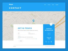 material Design Contact page Material Design Website, Design Your Own Website, Website Design Layout, Form Design Web, Map Design, Contact Page, Contact Form, Web Forms, Ui Web