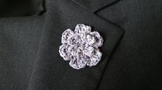 Men Lapel Pin   Men Buttonhole Pin  Boutonniere  by Kenboutonniere
