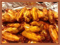 Kouzelná vařečka: Marinovaná kuřecí křidýlka