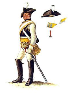 Prussian Kürassier-Regiment von Driesen No 7