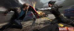 concept art for the Summer 2014 Film, Captain American: Winter Soldier, Ryan Meinerding