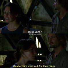 sawyer's sarcasm is literally what i live for #lost #lostshow #lostseries…