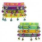 Zumba bracelets    Make Some Noise & Lighten Up in the newLighten Up Rubber Bracelets with Bells.  100% Silicone (Latex free)  Aluminum bells  **One Bracelet**